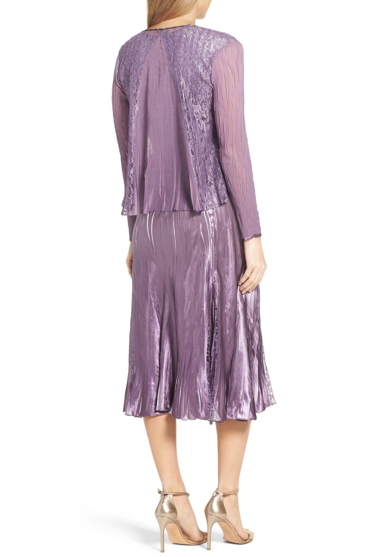 Mother of the bride wedding dresses nordstrom  ALine Dress with Jacket  Nordstrom Free shipping and Ships