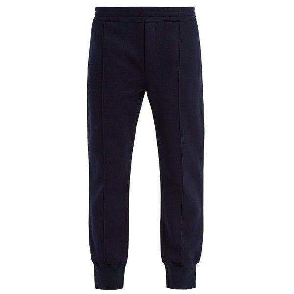 Tapered cotton-blend track pants Alexander McQueen Cheap Sale Online Clearance Cost DuoYNHnLO