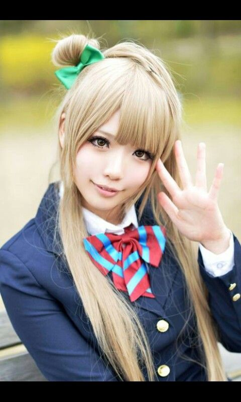 Really nice cosplay of Kotori from Love live school idol project :3.