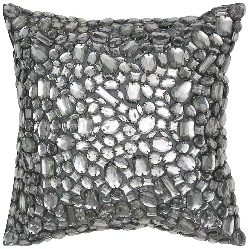 Bling Swarovski Crystal Pillow Fancy Pillows Bed Pillows