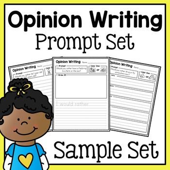 Opinion Writing Prompts Sample Freebie Opinion Writing Prompts Opinion Writing Free Opinion Writing