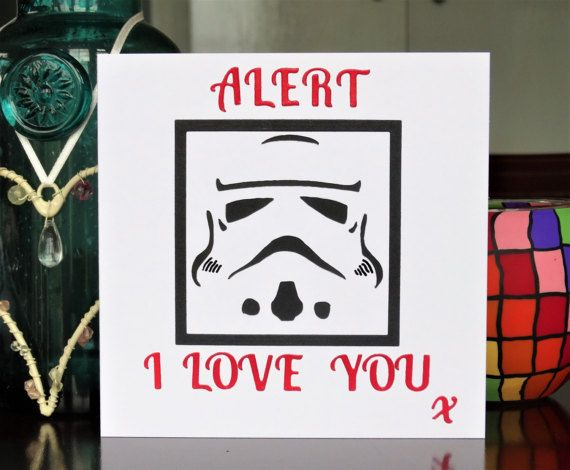 Handmade greeting card a storm trooper i love you card birthday handmade greeting card a storm trooper i love you card birthday card bookmarktalkfo Images