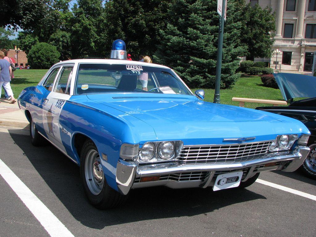 1968 Chevrolet Biscayne Police Car Police Cars Police Car Cop