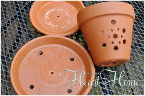 Diy Bird Feeder From A Flower Pot Diy Bird Feeder Flower Pots Bird Feeders