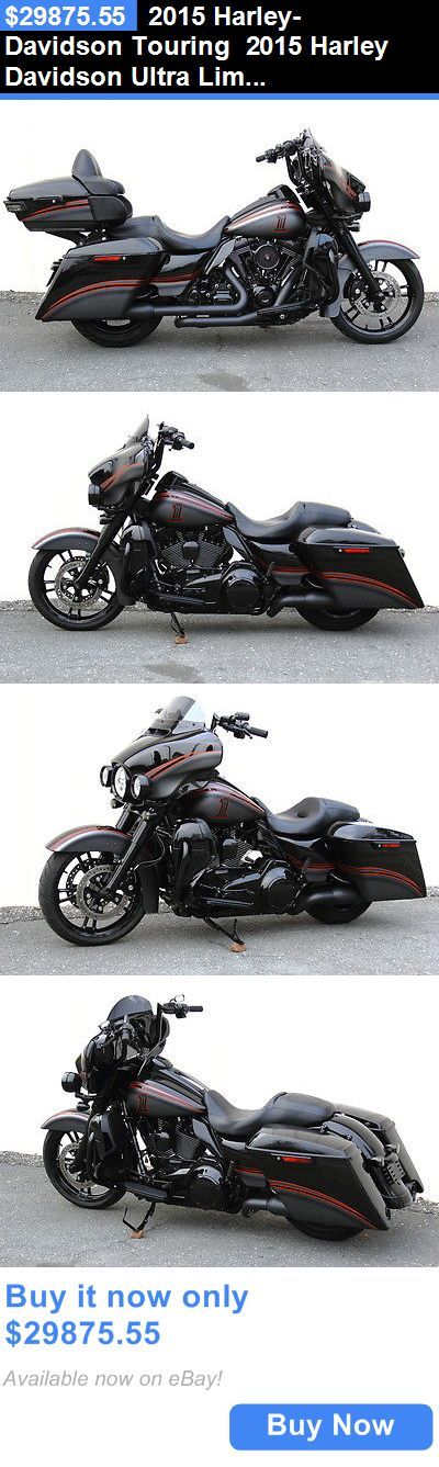 Motorcycles 2015 Harley Davidson Touring Ultra Limited Low