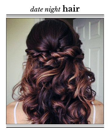 casual date night hairstyles If you love retro hairstyles with layers and bangs, we're taking it back to the '70s with some of the absolute 35 best feathered hair styles or date night.