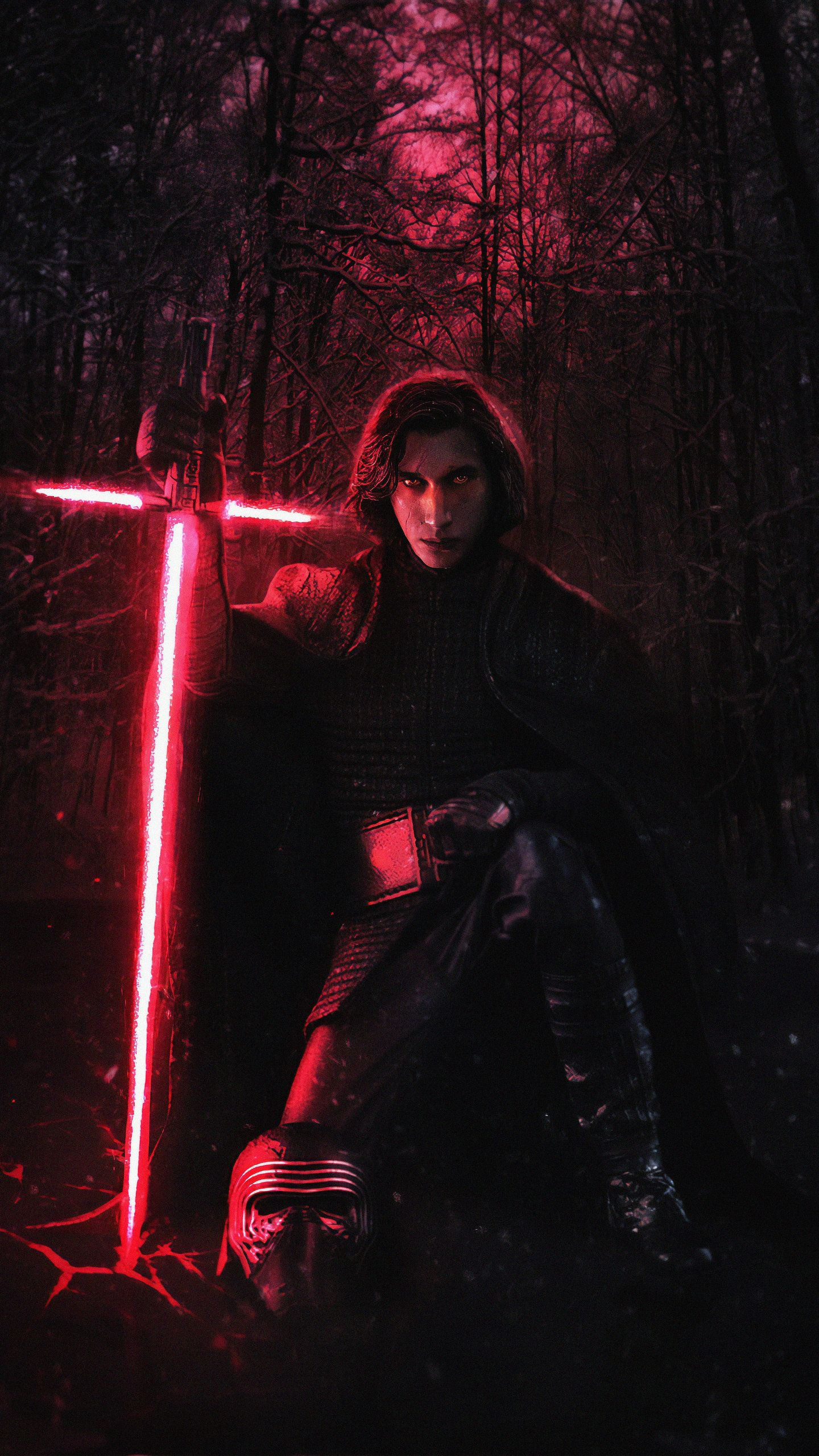Kylo Ren 4K New HD Wallpaper Star wars pictures, Star