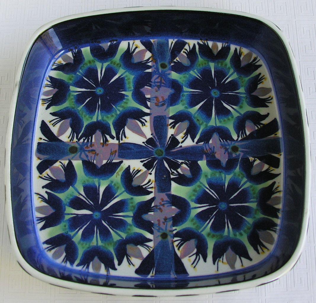 Royal Copenhagen Fajance Dish by Marianne Johnson. $45.00, via Etsy.