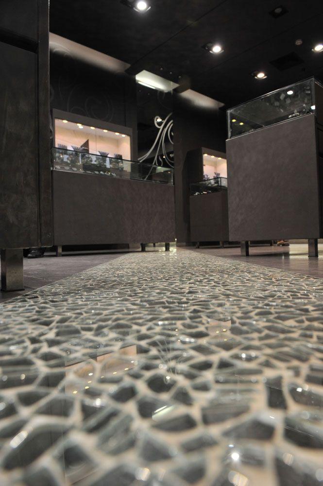 shattered+mirror+floor | Broken Mirror Floor nice idea for a ...