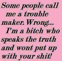 speaking truth