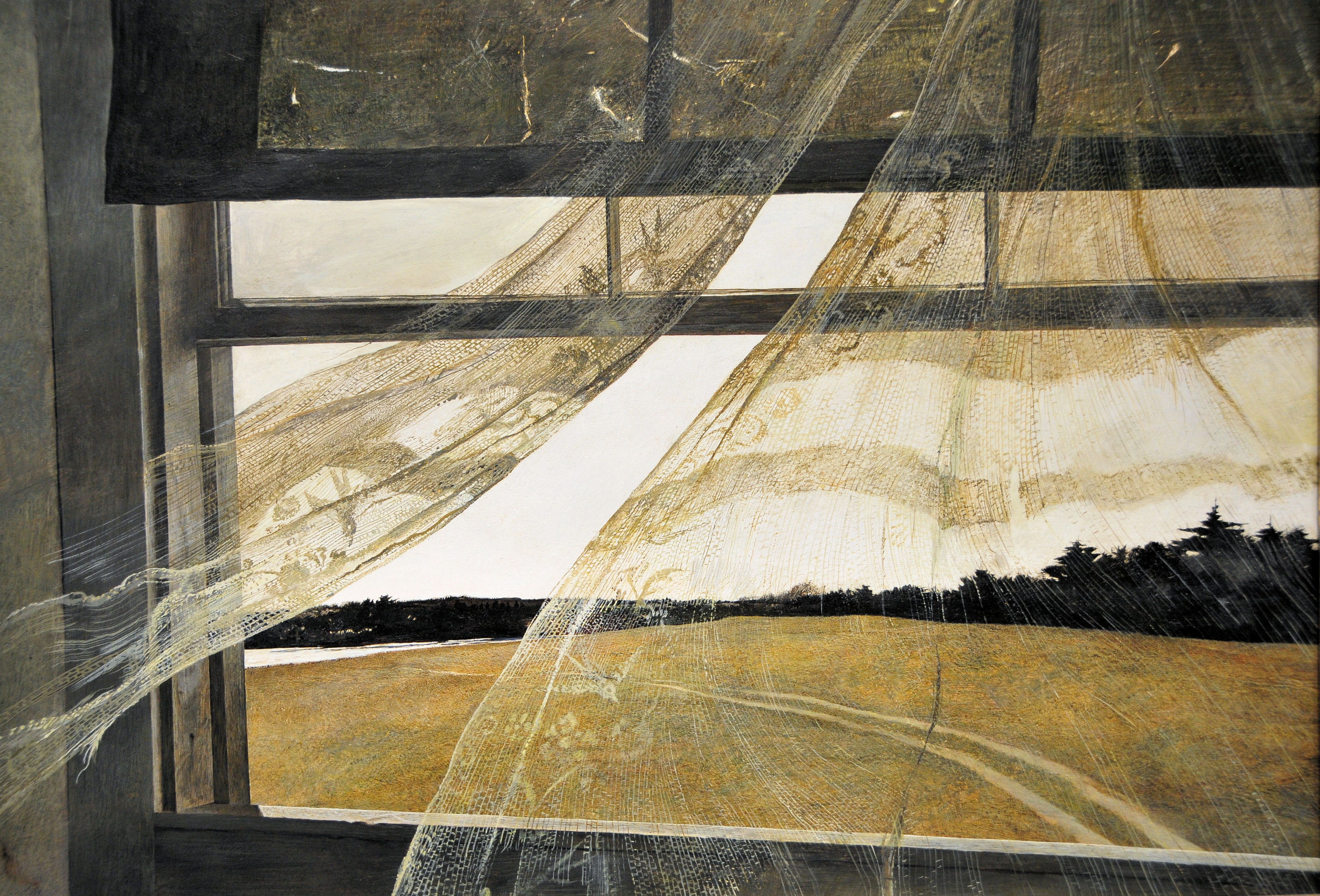 Painting Wind From The Sea Andrew Wyeth 1947 Learn More