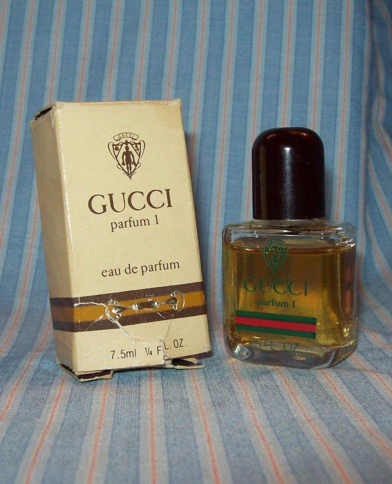 Vintage Gucci Parfum 1 Eau De Parfum Mini 75 Ml 14 Oz Womens