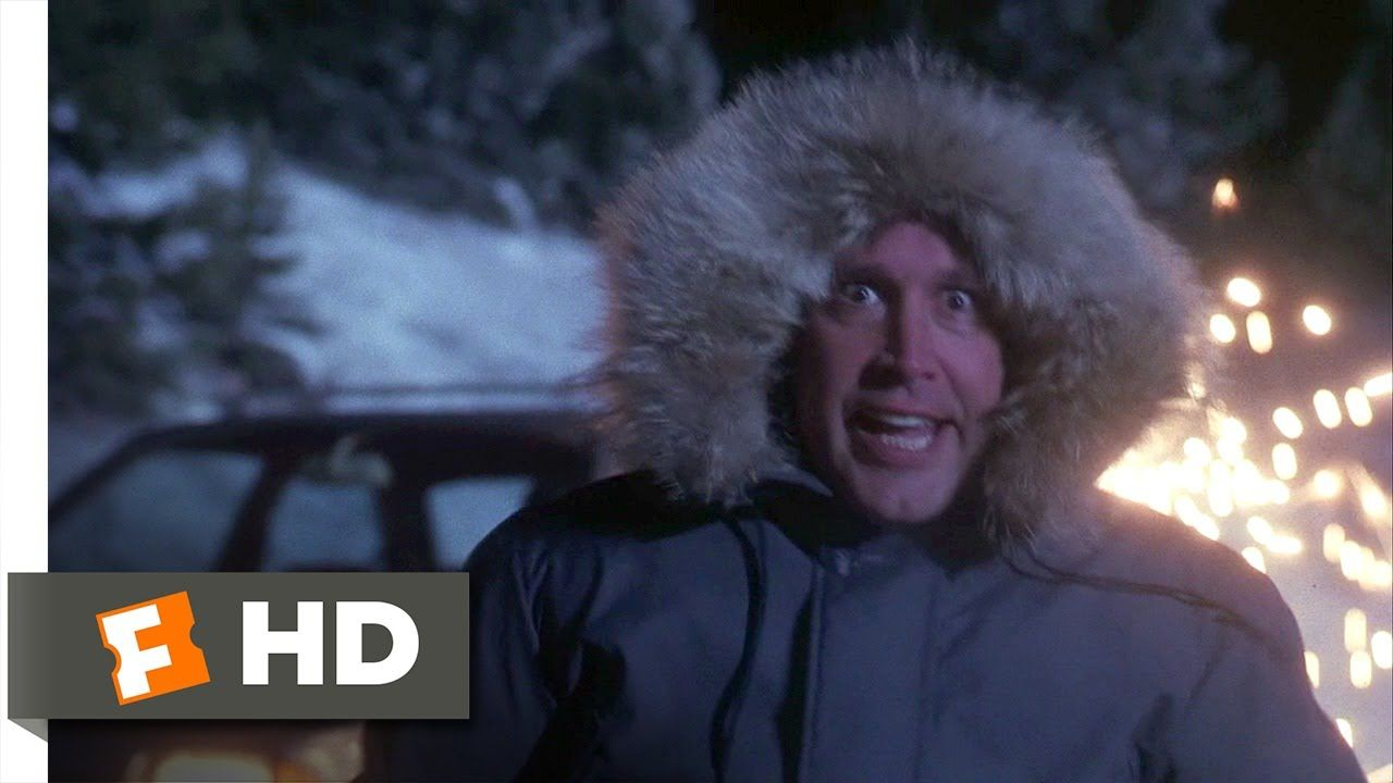 Christmas Vacation (6/10) Movie CLIP Downhill Fast (1989