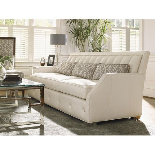 Ashley Furniture Outlet Orlando: Mirage Quick Ship Audrey Leather Sofa By Lexington Home