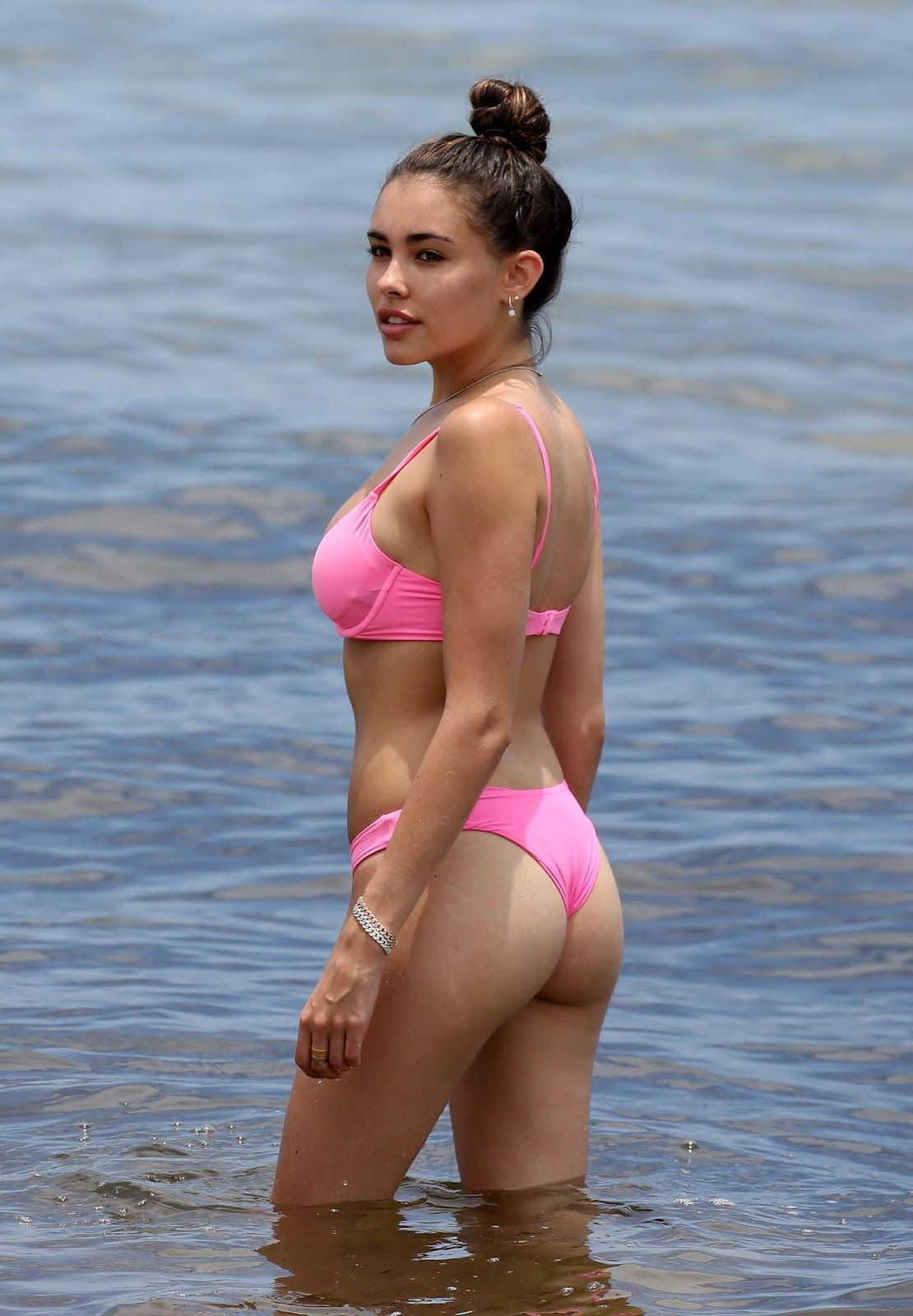 8d01252fd7 Madison Beer - Bikini in Miami Beach, Florida - June 23, 2018 ...