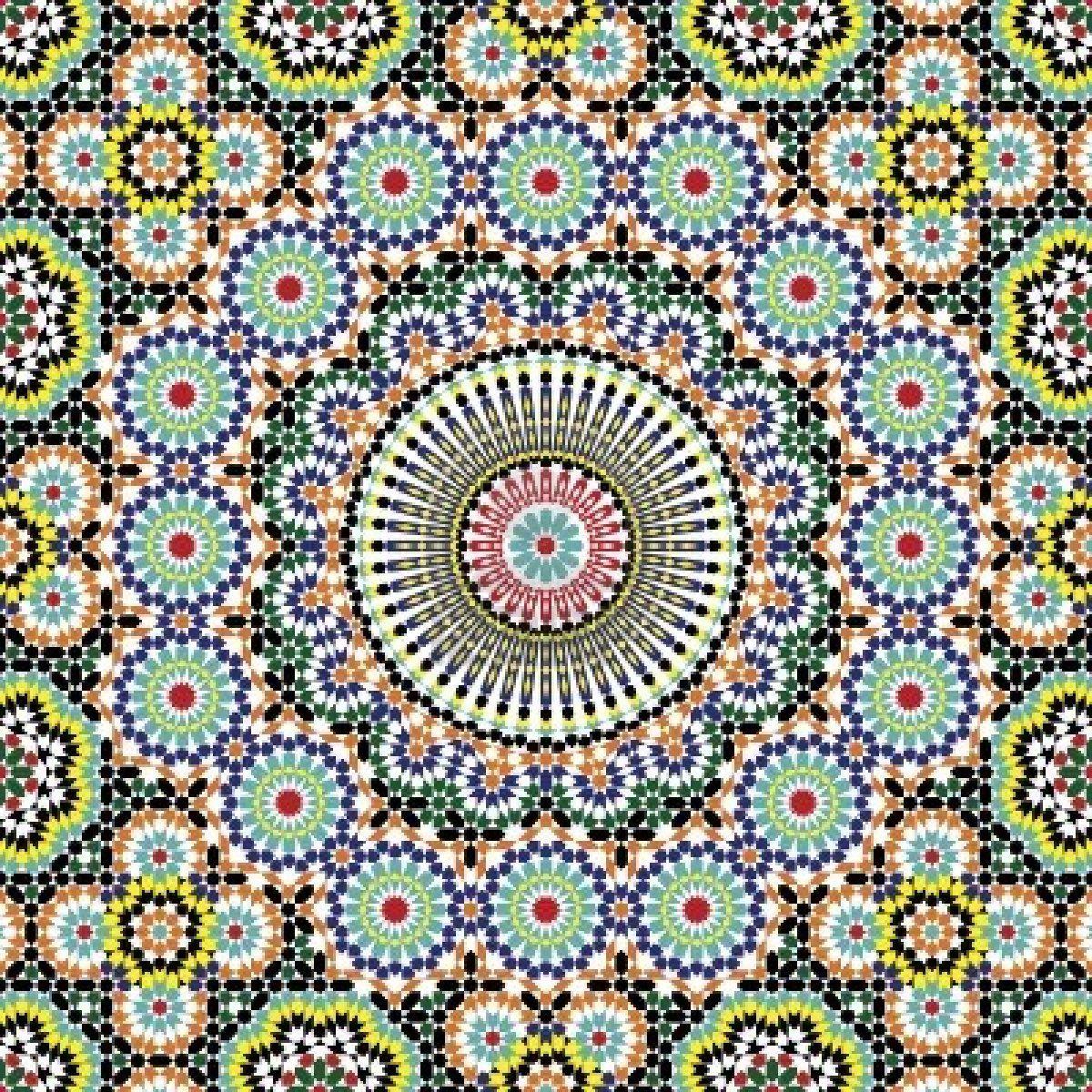 Moroccan Pattern Custom Decorating Design
