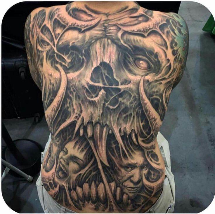 Krasse Tattoos