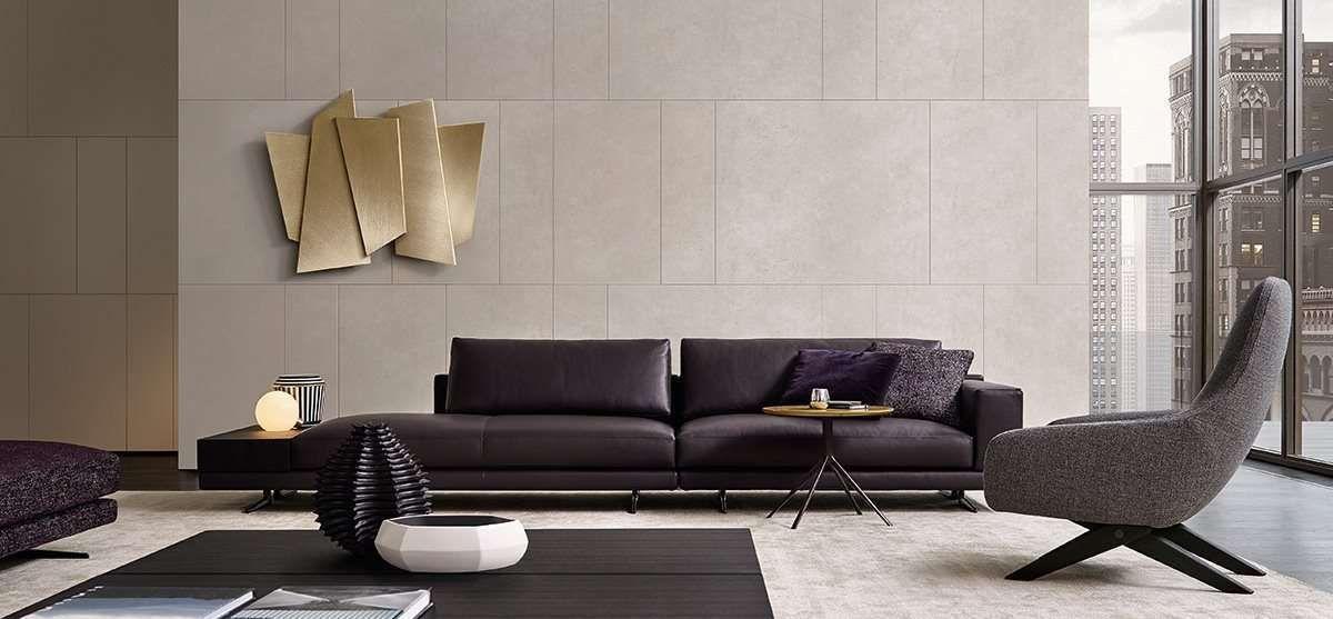 Il design in camera da letto. Poliform Divani 2017 Decorazione Di Stanze Idee Di Interior Design Idee Per Decorare La Casa