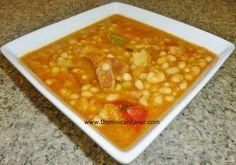 Dominican style Stewed White Beans/Habichuelas Blancas Guisadas Criollas | Delicious Dominican Cuisine
