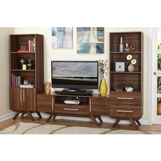 Superb Shop For Simple Living Ashfield Mid Century Entertainment Unit . Get Free  Shipping At Overstock.