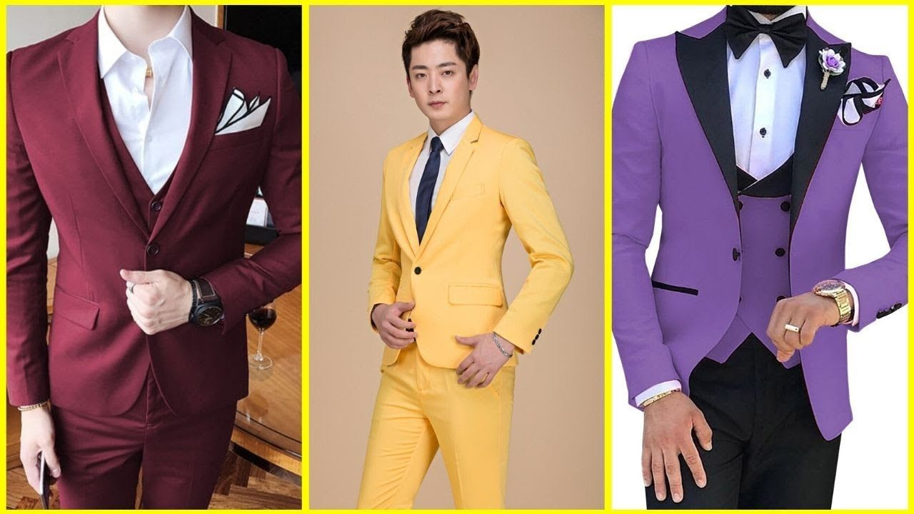 Three Piece Suit Coat Pant Design For Boys