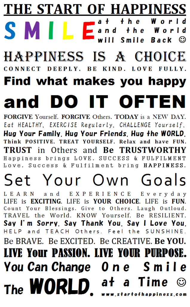 Happines Manifesto What Make You Happy Friendship Essay Happiness