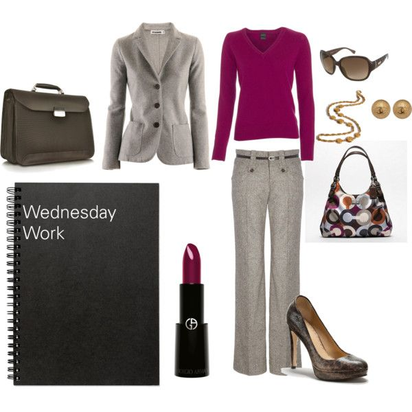 Wednesday Work Wear | A punch of color for hump day!