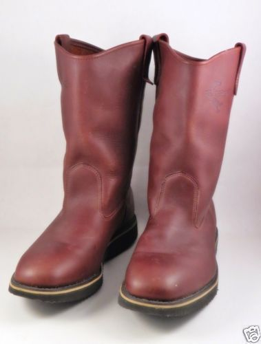 Fin-and-Fur-Boots-Mens-Brown-Leather-Size-9-5-USA-Wellington-11