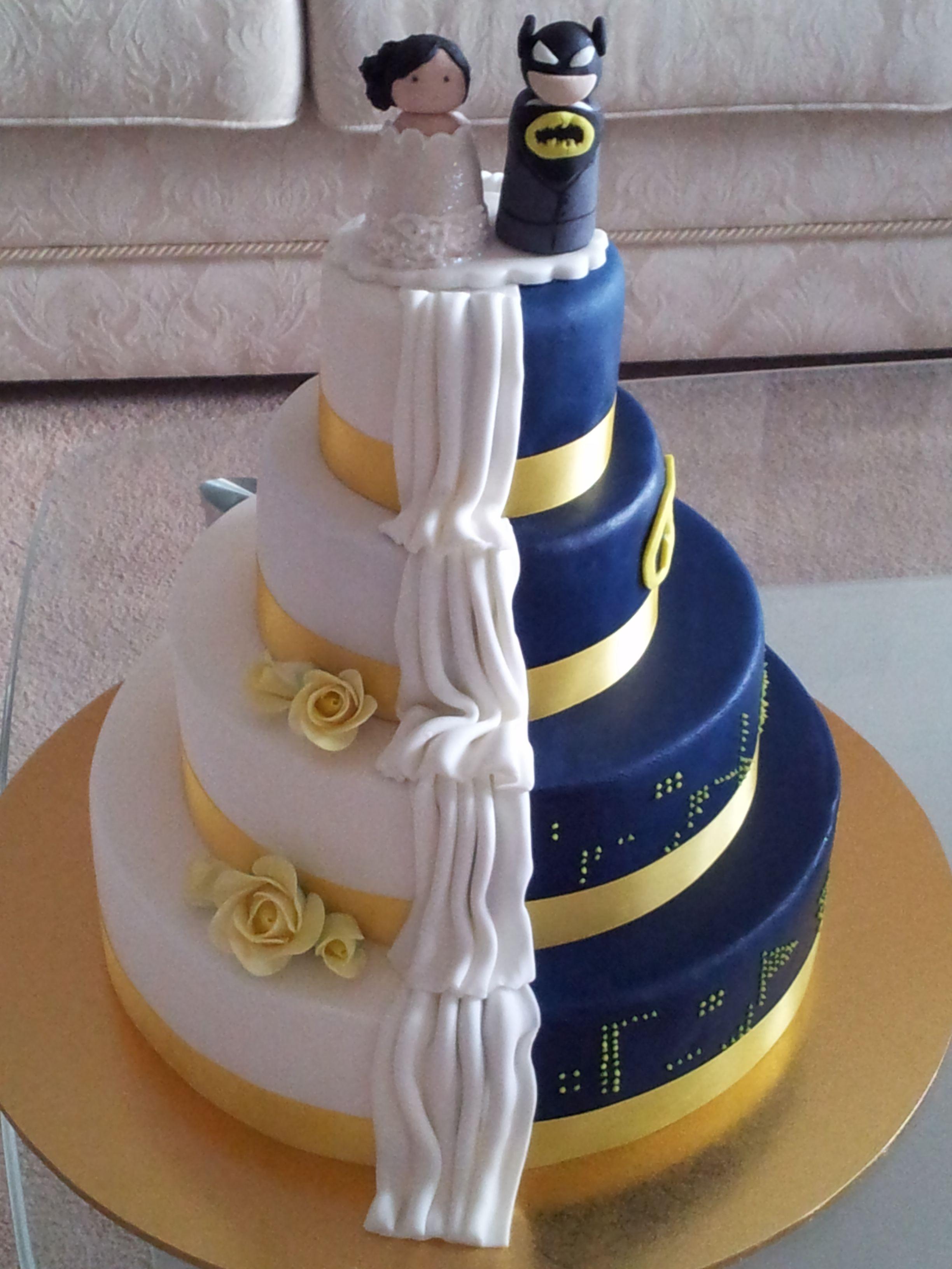 Batman Wedding Cake Groovy Batman Bride Wedding Cake