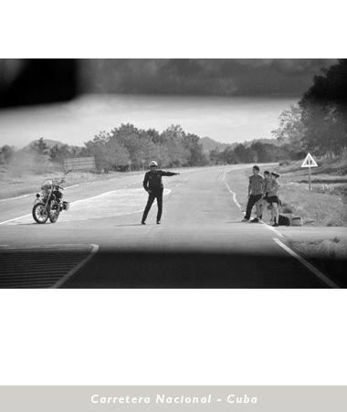 Desviación en Carretera Nacional. Cuba. Jorge Carlos Alvarez.