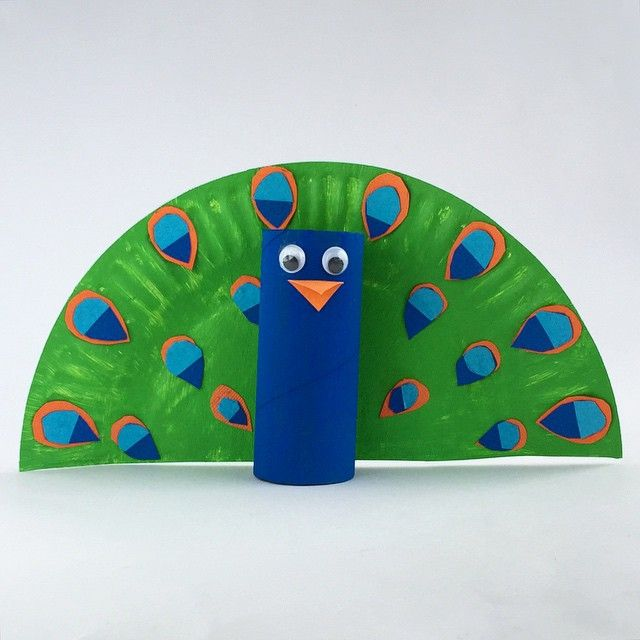 paper roll peacock craft toilet roll peacock kidscrafts kidsactivities 5129