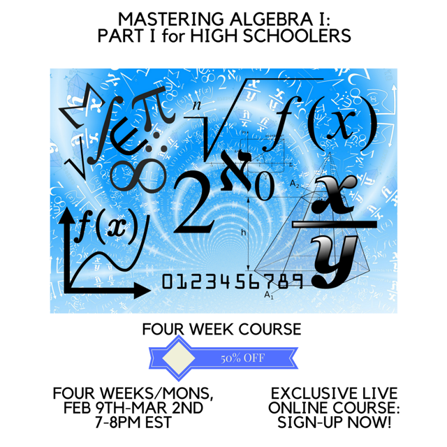 Check out this live online Mathematics Course! Get the help that you ...