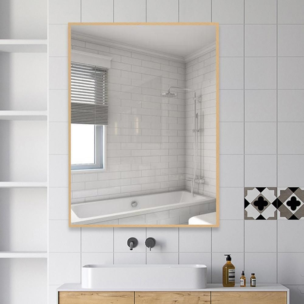 Neu Type Rectangle Moderner Einfacher Badezimmerspiegel Wand