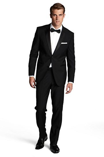 Personally I Like The Traditional Tuxedos W The Bow Tie Less Is More And Plus It Will Likely Cost Less Dep Mens Formal Wear Tuxedo Clothes Design