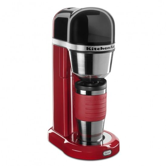 Kitchenaid Personal Coffee Maker Empire Red Cafetiere Rouge Aide Culinaire Cafe