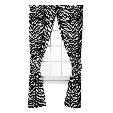 Perfect Shop Delectably Yours.com For Animal Safari Black U0026 White Zebra Print Drapes  And