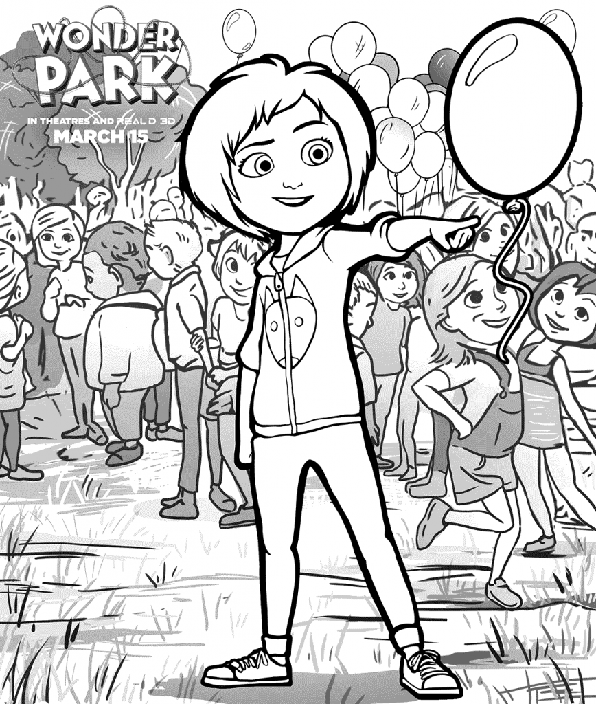 Wonder Park Coloring Pages Coloring pages, Coloring