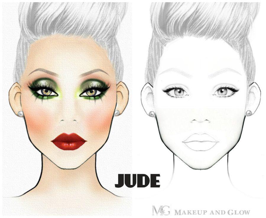 Printable Face Charts For Makeup Makeup Face Charts Face Chart Makeup Charts