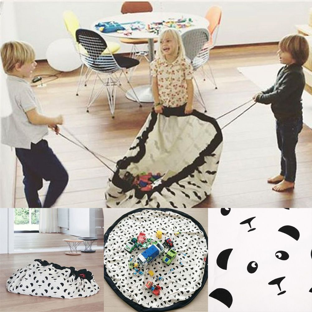 140cm Portable Kids Children Infant Baby Play Mat Large