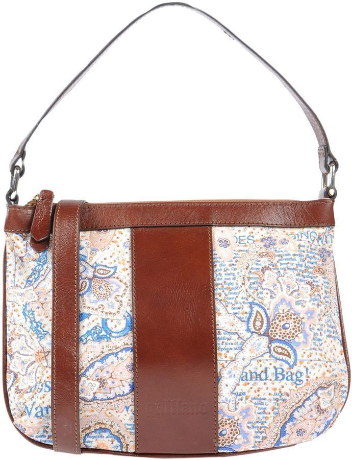 Galliano Handbags And Purse For Fashion Accessory Cool Paisley Print On Here