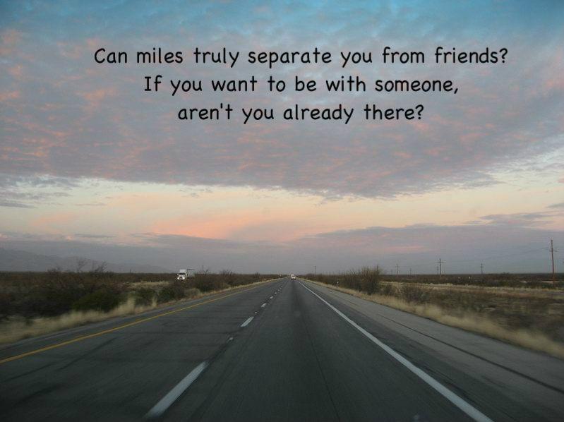 Distance makes the heart grow fonder inspirational words