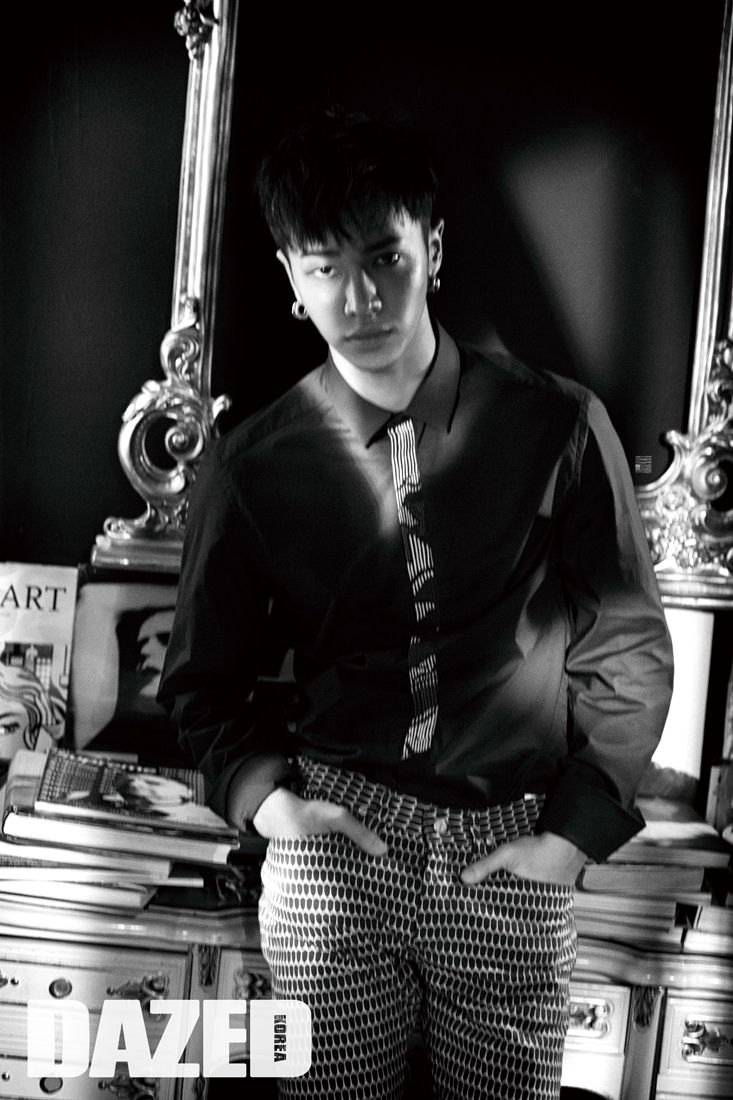 B2ST - Gikwang - Dazed and Confused Magazine August Issue '15