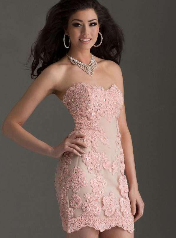 ihomecoming.com SUPPLIES Beautiful Sweetheart Neckline Lace Short ...