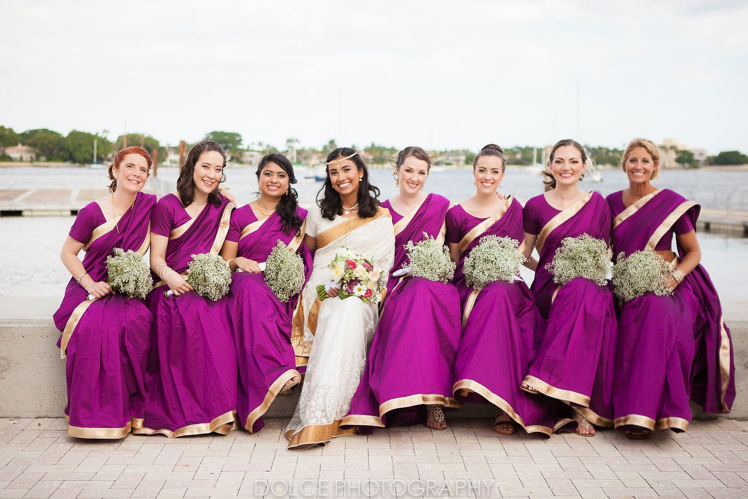 Indian bridesmaid Saris that I ended up choosing for my Wedding http ...