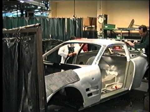 Aston Martin Lagonda Factory Newport Pagnell 1994 ...