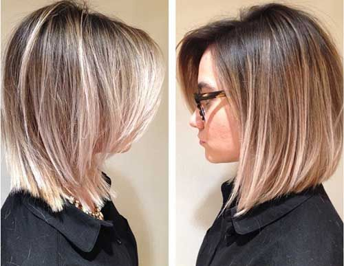 25 Medium Length Bob Haircuts Bob Haircut And Hairstyle Ideas Hair Styles Short Hair Balayage Short Hair Styles
