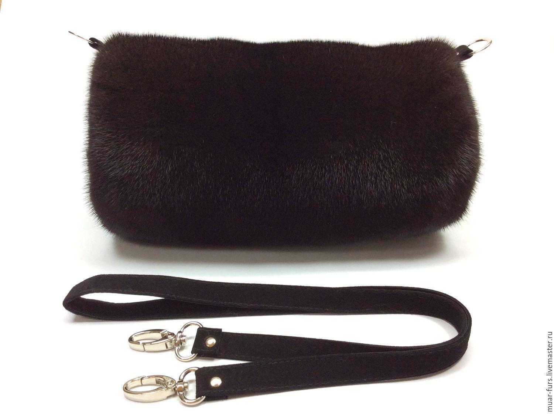 7cb6267e6e1d Купить Муфта из меха норки. - черный, муфта, муфта для рук, муфта из меха,  муфта из норки