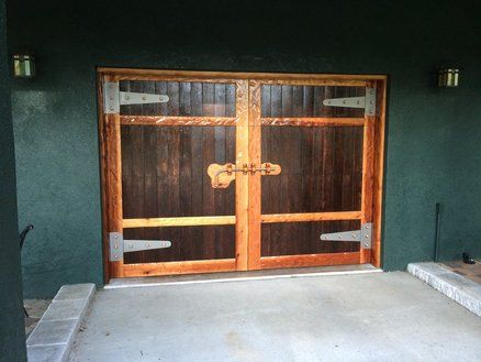 Rollup Faux Barn Style Garage Door Barn Style Garage Doors Garage Door Types Garage Door Styles