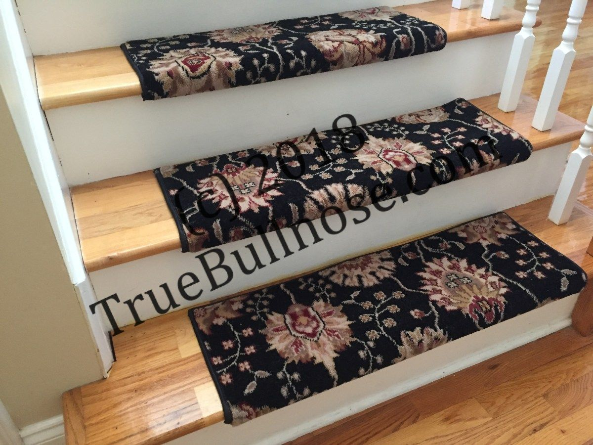 Midnight Custom Wool Carpet Stair Tread New Zealand Wool Emporium Sold Each Carpet Stair Treads Wool Carpet Hallway Carpet Runners