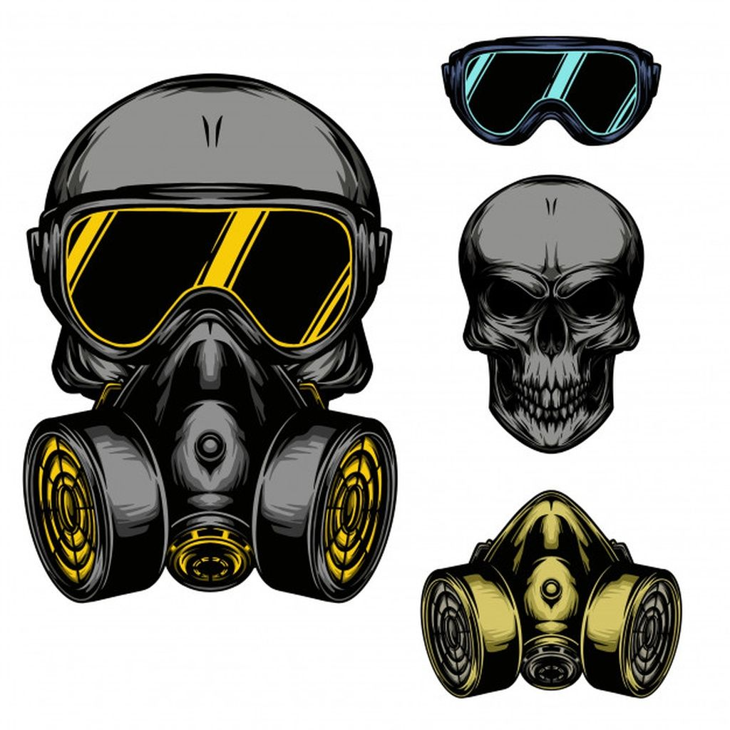 Skull Gas Mask Paid Paid Ad Mask Gas Skull Gas Mask Art Gas Mask Drawing Gas Mask